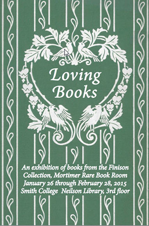 poster of Loving Books exhibition